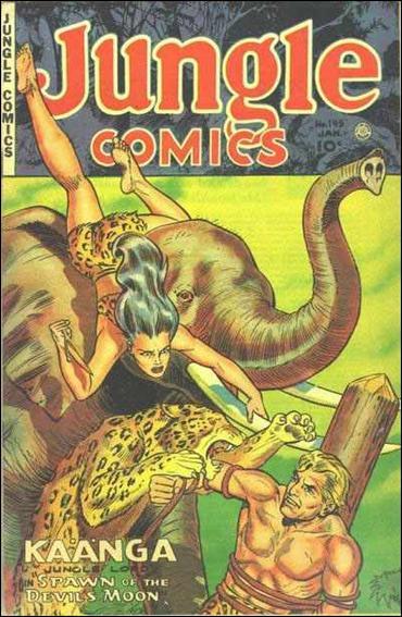 Jungle Comics (1940) 145-A by Fiction House Magazines