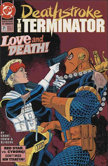 Deathstroke, the Terminator 21-A by DC