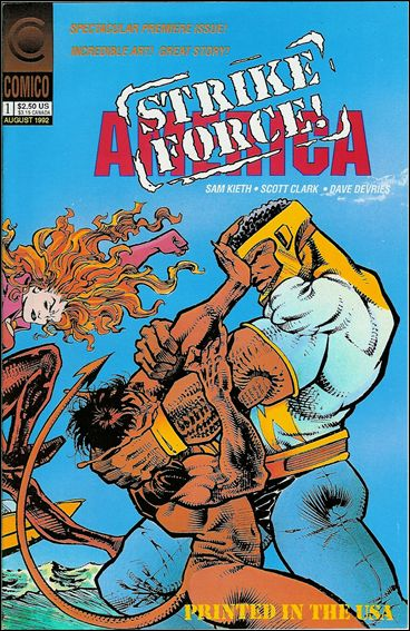 Strike Force America (1992) 1-A by Comico