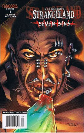 Dee Snider's Strangeland: Seven Sins 1-A by Fangoria