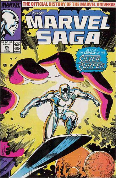 Marvel Saga 25-A by Marvel