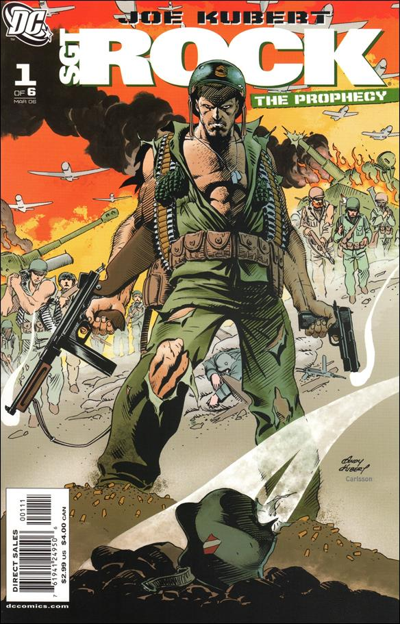 Sgt. Rock: The Prophecy 1-C by DC