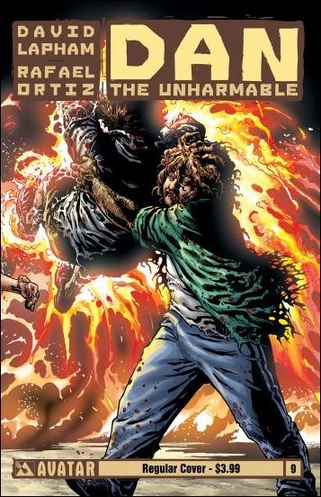 Dan the Unharmable 9-B by Avatar Press