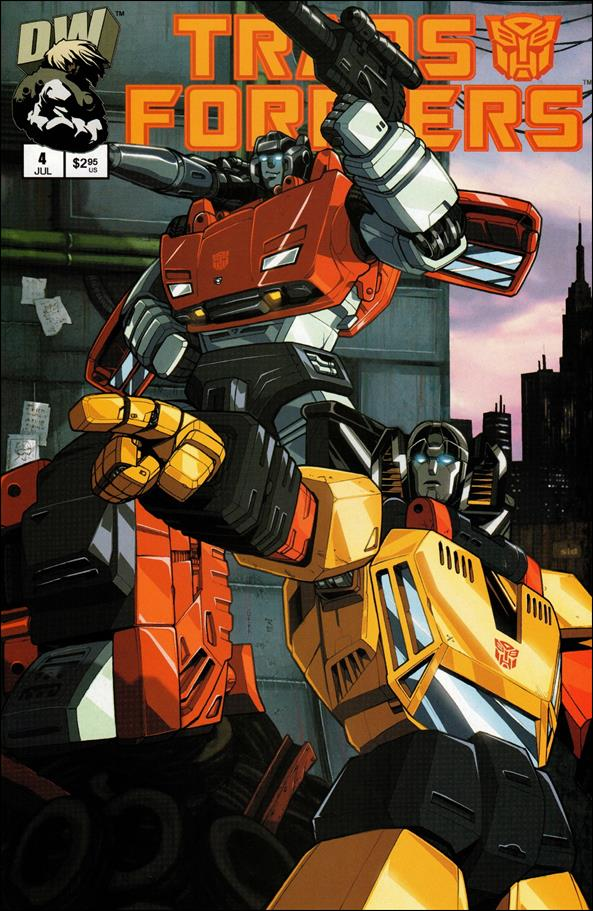 Transformers: Generation 1 (2002) 4-A by Dreamwave