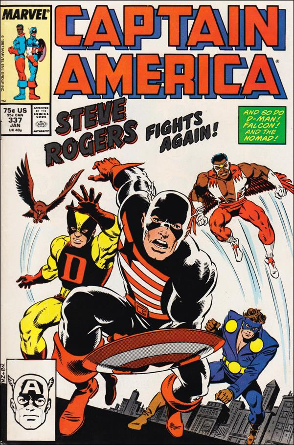Captain America (1968) 337-A by Marvel