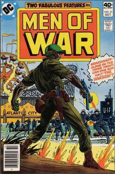 Men of War (1977) 21-A by DC