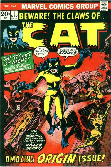Cat (1972) 1-A by Marvel
