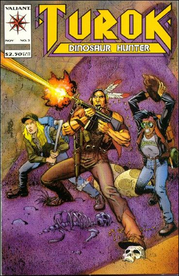 Turok: Dinosaur Hunter (1993) 5-A by Valiant