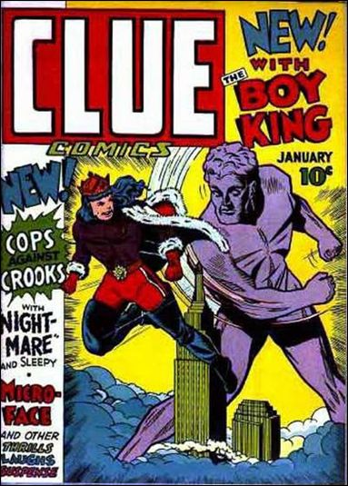 Clue Comics (1943) 1-A by Hillman