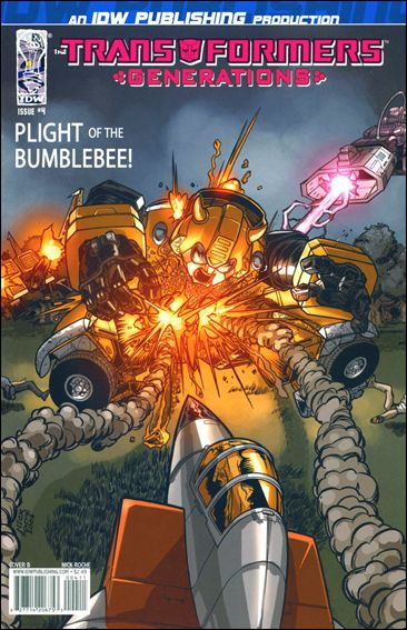 Transformers: Generations 4-B by IDW