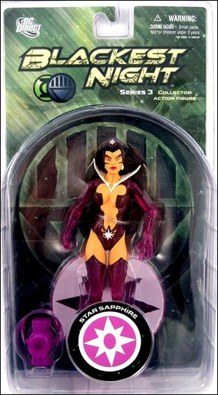 Blackest Night (Series 3) Star Sapphire by DC Direct