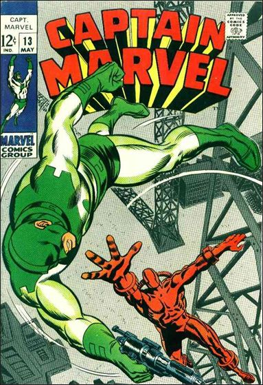 Captain Marvel (1968) 13-A by Marvel