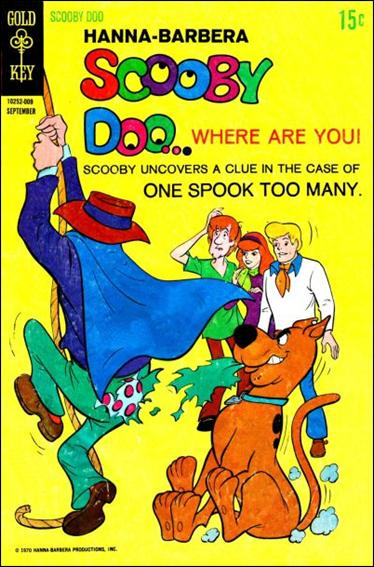 Scooby Doo, Where Are You? (1970) 3-A by Gold Key