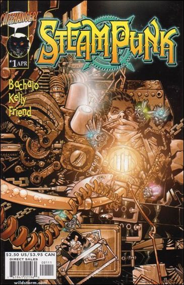 Steampunk 1-A by WildStorm
