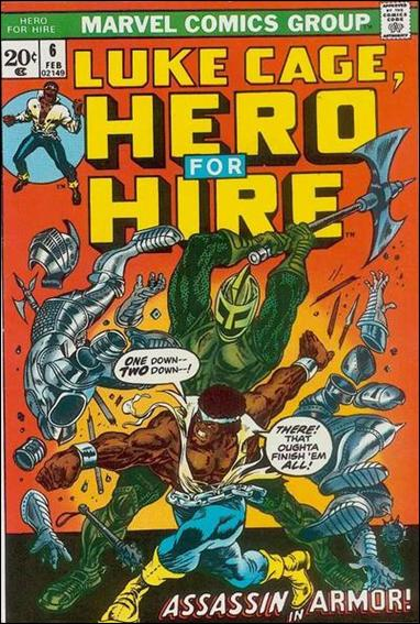 Hero for Hire 6-A by Marvel