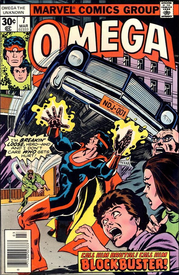 Omega: The Unknown (1976) 7-A by Marvel