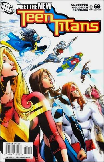 Teen Titans (2003) 69-A by DC