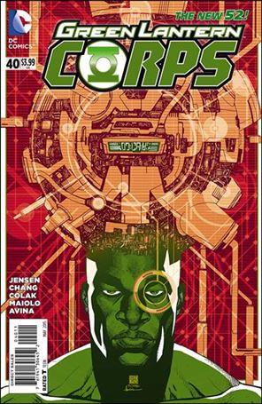 Green Lantern Corps (2011) 40-A