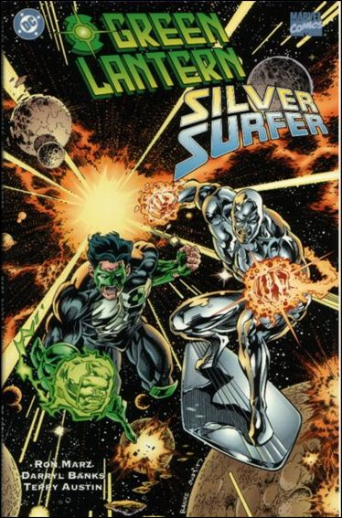 Green Lantern/Silver Surfer: Unholy Alliances 1-A by DC