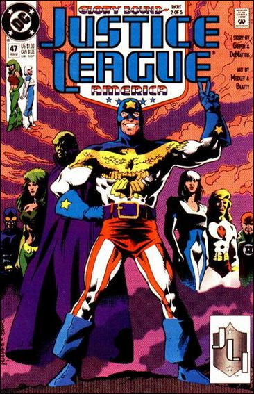 Justice League America 47-A by DC