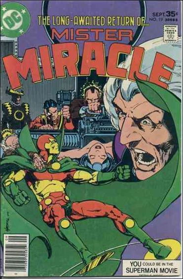 Mister Miracle (1971) 19-A by DC
