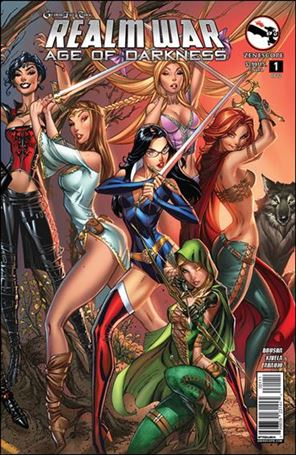 Grimm Fairy Tales Presents Realm War: Age of Darkness 1-A