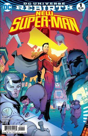 New Super-Man 1-A