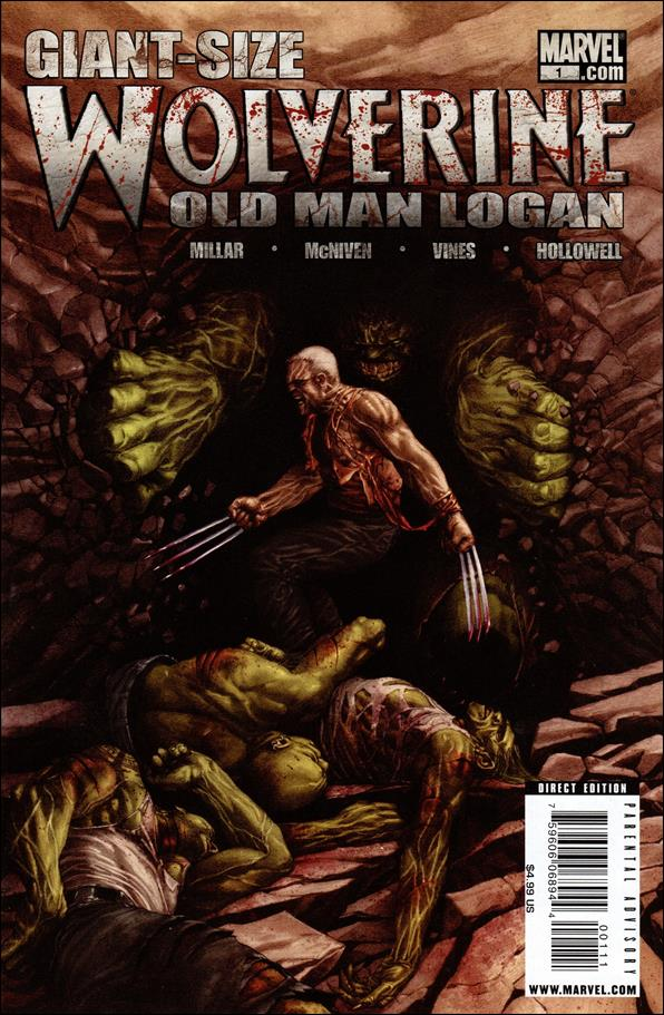 Wolverine: Old Man Logan Giant-Size 1-A by Marvel