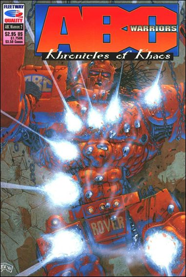 ABC Warriors: Khronicles of Khaos 2-A by Fleetway Quality