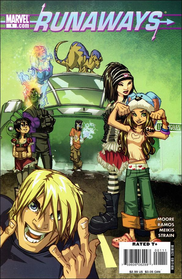 Runaways (2008) 1-A by Marvel