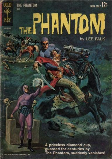 Phantom (1962) 3-A by Gold Key