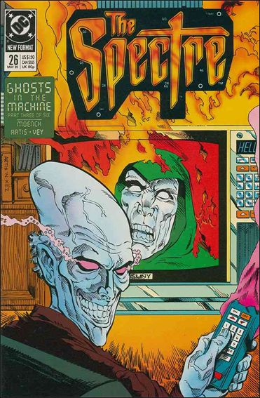 Spectre (1987) 26-A by DC