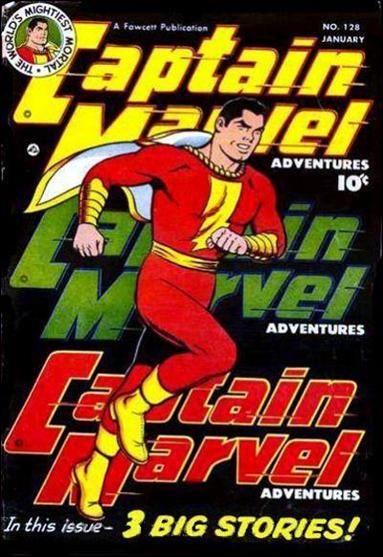 Captain Marvel Adventures 128-A by Fawcett