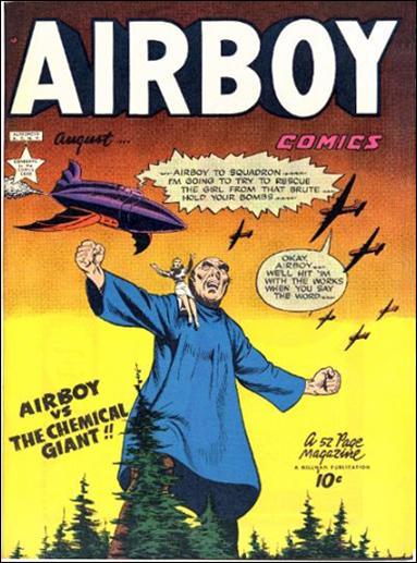 Airboy Comics (1949) 7-A by Hillman