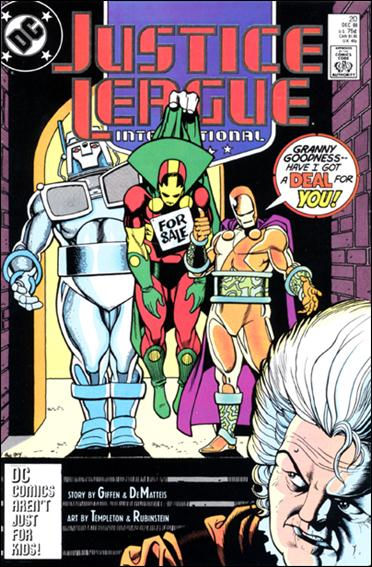 Justice League International (1987) 20-A by DC