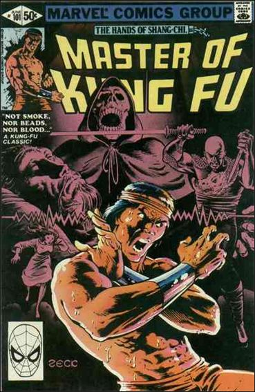 Master of Kung Fu 101-A by Marvel