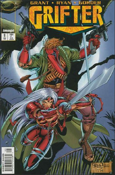 Grifter (1996) 8-A by Image