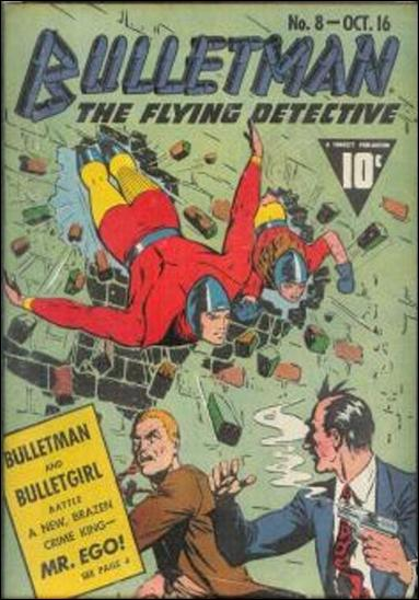 Bulletman 8-A by Fawcett