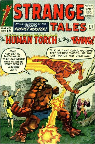 Strange Tales (1951) 116-A by Marvel
