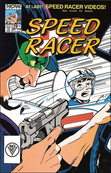 Speed Racer (1987) 29-A by Now Comics