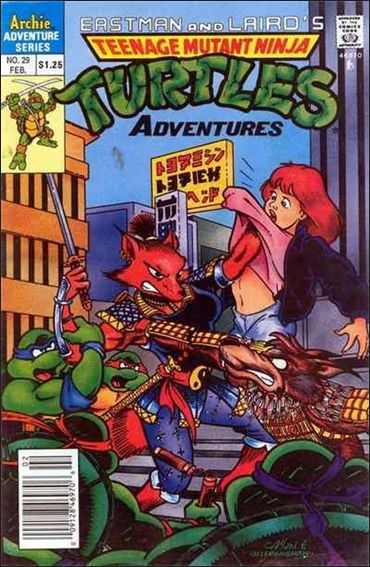 Teenage Mutant Ninja Turtles Adventures (1989) 29-A by Archie