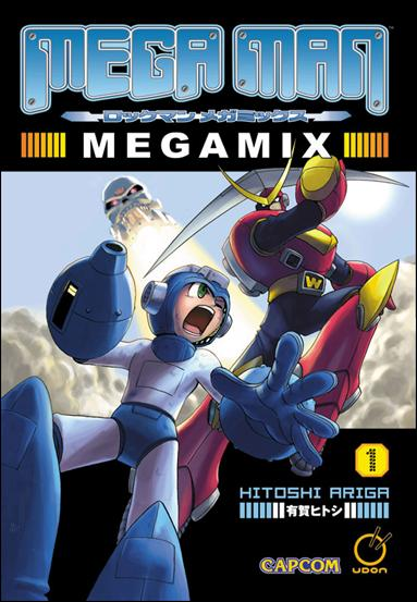 Mega Man Megamix 1-A by Udon