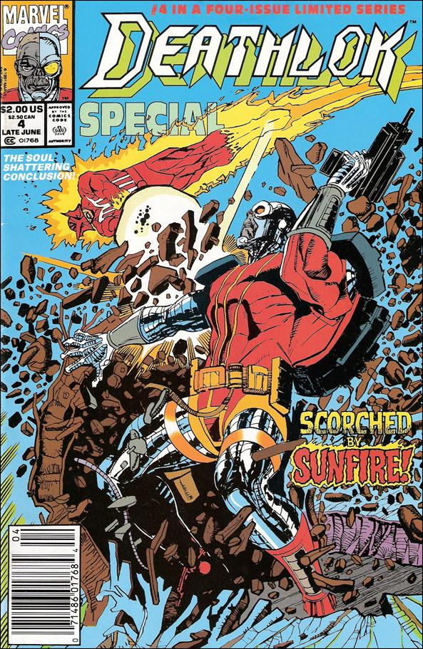 Deathlok Special 4-A by Marvel