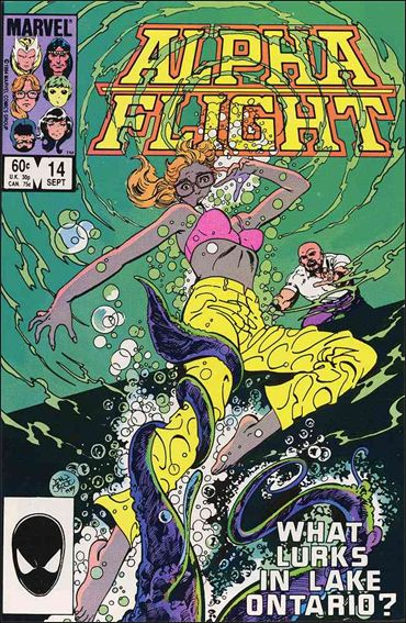 Alpha Flight (1983) 14-A by Marvel