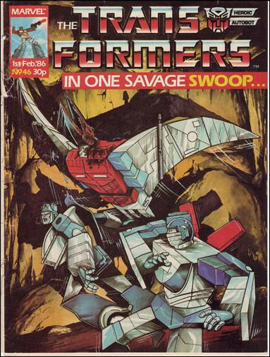 Transformers (UK) 46-A by Marvel UK