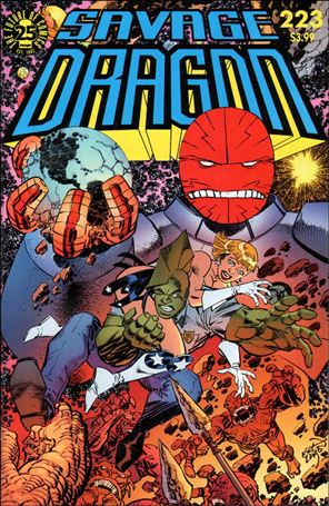 Savage Dragon (1993) 223-A