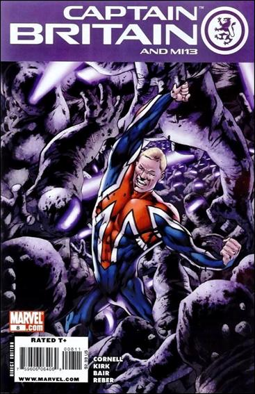 Captain Britain and MI13 8-A by Marvel