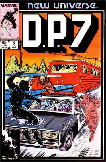 D.P.7 3-A by Marvel
