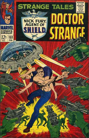 Strange Tales (1951) 153-A by Marvel