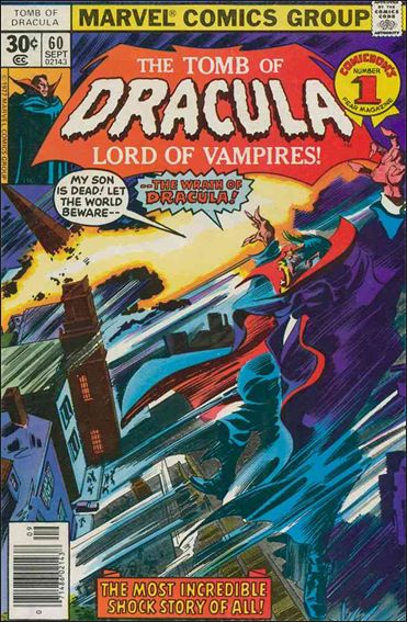 Tomb of Dracula (1972) 60-A by Marvel